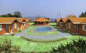 casas pre fabricadas em madeira quiosquis ungalow