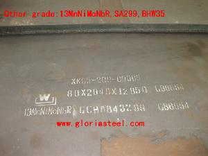 spa h steel plate gloria