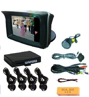 2 3 tft monitor display car reverse parking sensor video rd 72