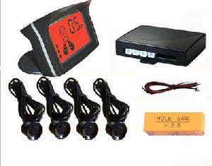 lcd ultrasonic 4 sensor automotive reverse car parking system rd 058c4