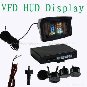vfd hud monitor display car parking sensor system rd 088c4