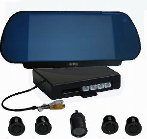 video car reverse backup sensor systems built 7 tft monitor 4 sensors