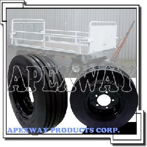 airport tire wheel assembly