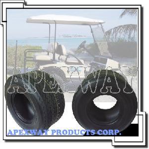 golf cart tire wheel assembly