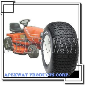 lawn mower tire wheel assembly