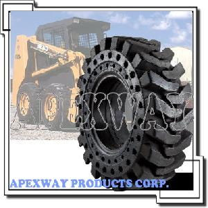 skid steer loader tire wheel assembly