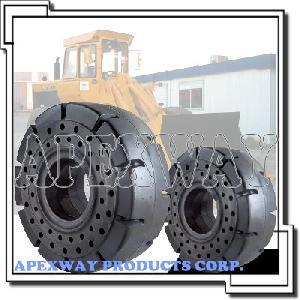 solid wheel loader tire