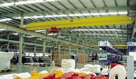 overhead crane lda beam