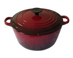 enameled cast iron cookware hbf 508