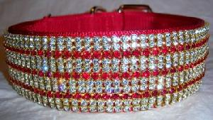 rhinestone swarovski pet collars wholesale