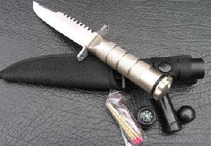 sea land fuction survival knife