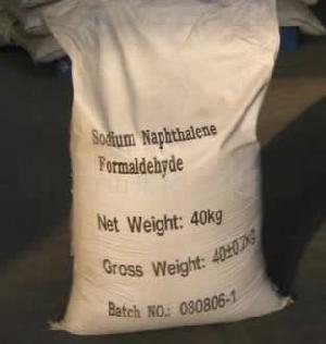 concrete admixture naphthalene superplasticizer
