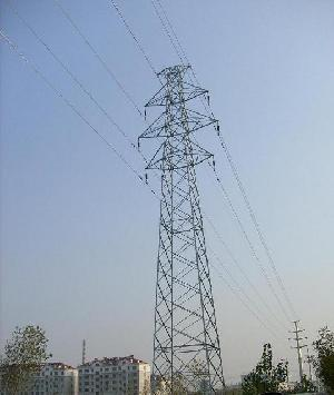 power transmission lattice galvanized angular steel tower mast angle