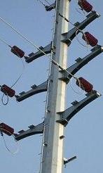 power transmission steel pole