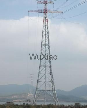 power transmission steel tubular tower mast