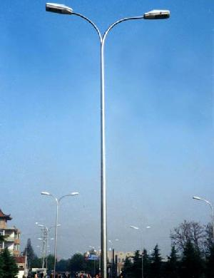 steel iron lamp poles masts