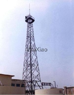 tele communication steel tower antenna mast