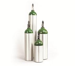Aluminum Oxygen Cylinders D Size
