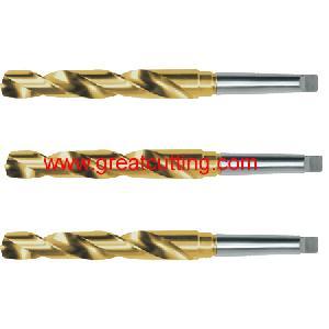 taper shank twist drill din 345 bits