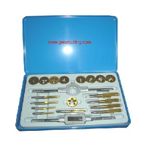 threading tools 20 taps die tin coated