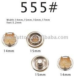 555 prong snap button