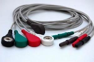 d 5 ecg wires snap