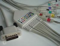 m3703c ekg cable 12 leads hp 100 m1770 m1771 m1772 electrocardiograph