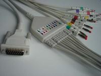 schiller ekg cable 12 leads cardiovit 102 cs 200 10 plu