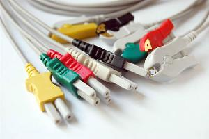 Spacelab 5-lead Ecg Lead Wires, Clip End, Iec