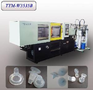 liquid silicone rubber lsr baby nipple machine tym w3535b