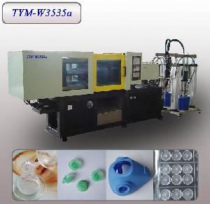 liquid silicone rubber lsr injection molding machine tym w3535a