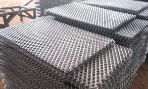 50mm x 100mm expanded metal mesh