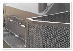 expanded metal machine guards paint grids tailgates