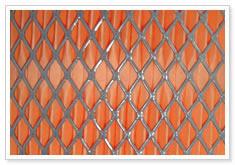 expanded metal media mesh filter