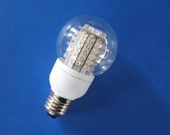 globe led bulb clear frost spherical light ball lamp