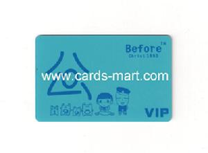 print diverse colorful vip cards
