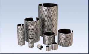 metal mesh ptfe layer beairng stainless bush split bearing chemical industries bu