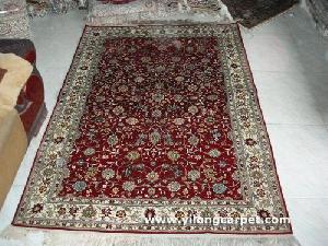 turkish silk rug