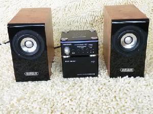 handmade mini hi fi speaker system