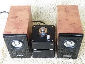 handmade vacuum tube speaker system