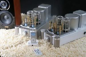 hi fi vacuum tube audio amplifier