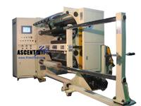 af slitting rewinding machine plastic film ttr slitter rewinder