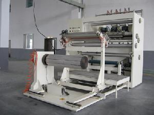 qu storage battery separator pvc pe sheet slitting machine