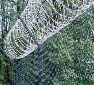 Barbed Wire Security Fence / Barbed Wire Security Fencing