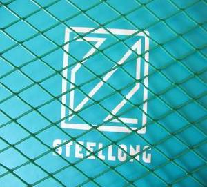 pvc diamond mesh expanded