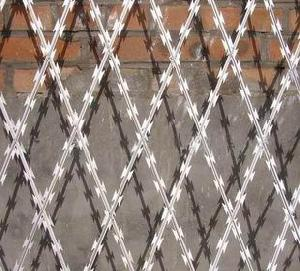 razor tape wire fencing fence