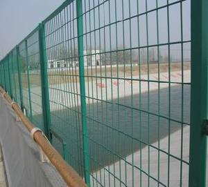 vinyl coated welded wire fence