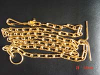 zinc plated chain