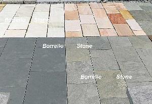 granite paving flabs slabs tumble stone