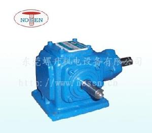 1 ratio 90 degree bevel gearbox